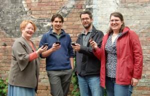 Collaborating corecubed team