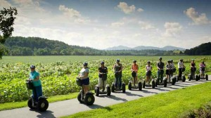 Asheville corecubed segway tour 2011 staff meeting