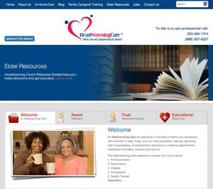 Home Care Website Redesign