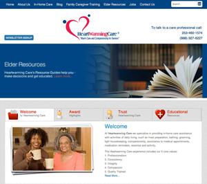 Home Care Website Redesign