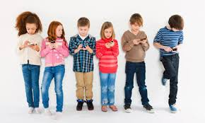 kids using technology early