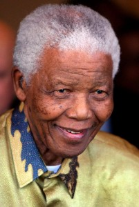 Nelson Mandela uses home care