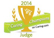 caring champions judge