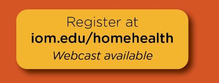 institute of Medicine Holds DC Workshop on Home Health