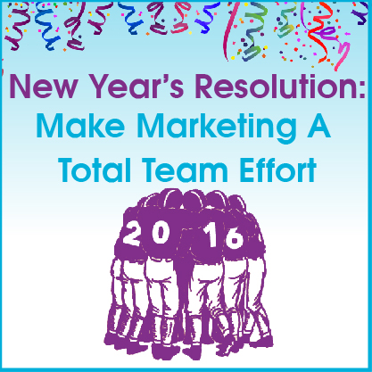 It takes an entire team focused on results to win at marketing