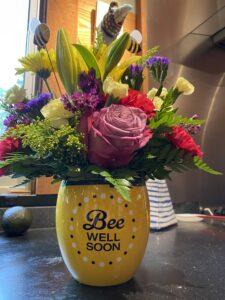 Bee well flowers